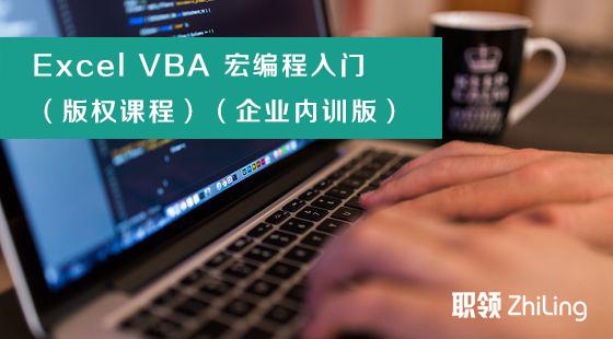 Excel2016职场进阶--VBA编程入门课程(企业内训)