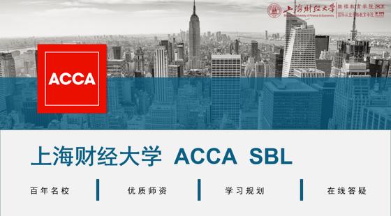 上海財經大學ACCASBL精講班
